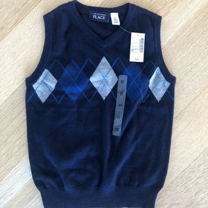 The Children's Place sweater vest.